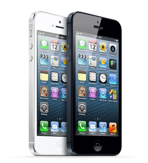 รูปทรงที่ยาวขึ้นของ iphone 5